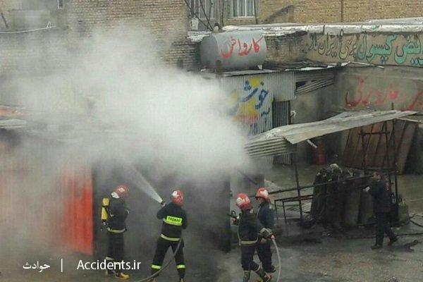 حادثه آتش سوزی خوابگاه دانش آموزی - سایت حوادث - اخبار حوادث