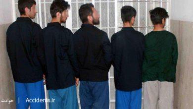 دستگیری باند گوشی قاپ ها- سایت حوادث - اخبار حوادث