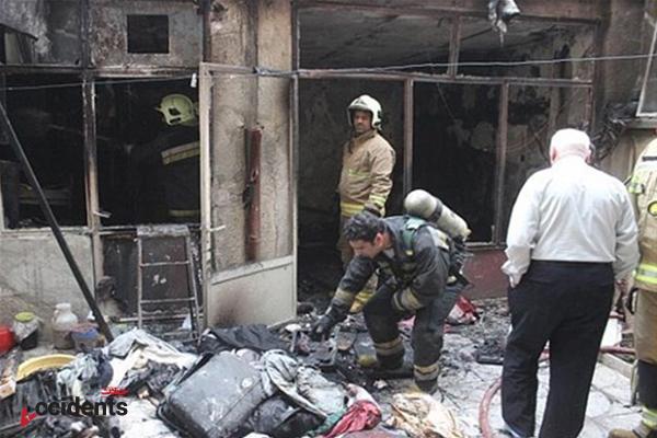 اخبار حوادث – فوت پیرمردی در آتش سوزی منزل مسکونی اش - سایت حوادث