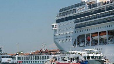 اخبار حوادث - حادثه برخورد کشتی تفریحی کروز در ونیز ایتالیا - سایت حوادث